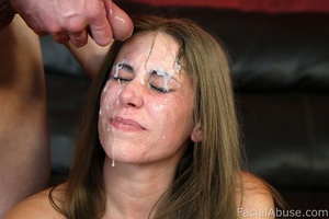 White trash hick with cum on her face - XXX Dessert - Picture 15