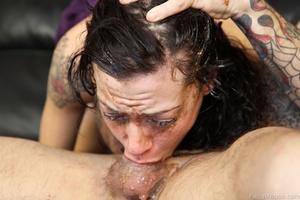 Porn vet Vanessa Naughty gets face fucke - XXX Dessert - Picture 11
