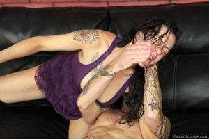 Porn vet Vanessa Naughty gets face fucke - XXX Dessert - Picture 12