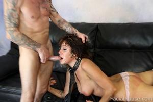 Sasha Sweet eats cum like a snack - XXX Dessert - Picture 7