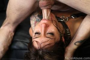 Sasha Sweet eats cum like a snack - XXX Dessert - Picture 8