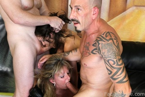 The Sexxxtons keep the throat fucking in - XXX Dessert - Picture 8