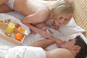 Busty blonde teen tries anal Blonde teen - XXX Dessert - Picture 9