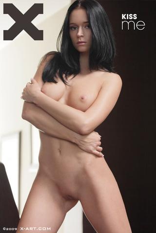 wonderful brunette 19-yo gal