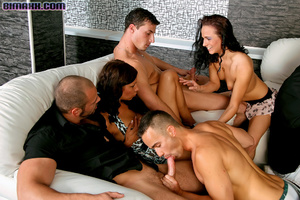 On these bisexual orgy party you can fuc - Picture 5