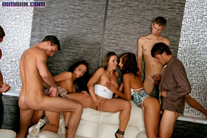 On these bisexual orgy party you can fuc - Picture 7