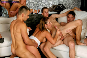 On these bisexual orgy party you can fuc - Picture 11
