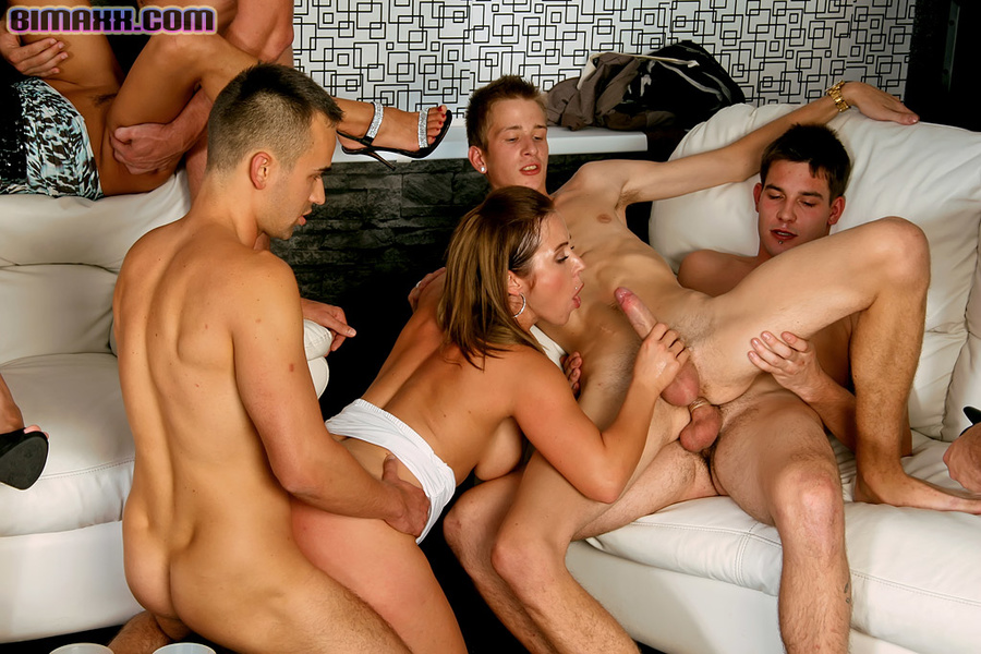 bisexual orgy fucking - On these bisexual orgy party you can fuck w - XXX Dessert - Picture 11