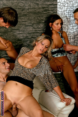 On these bisexual orgy party you can fuc - Picture 14