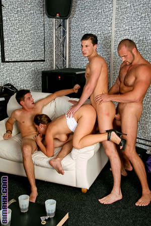 On these bisexual orgy party you can fuc - Picture 16