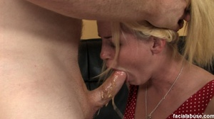 First time throat gagger facialed by coc - XXX Dessert - Picture 2