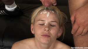 First time throat gagger facialed by coc - XXX Dessert - Picture 15