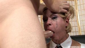 Innocent blonde skank gets facialized - XXX Dessert - Picture 3