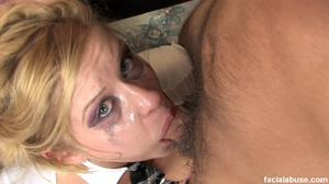 Innocent blonde skank gets facialized - XXX Dessert - Picture 6
