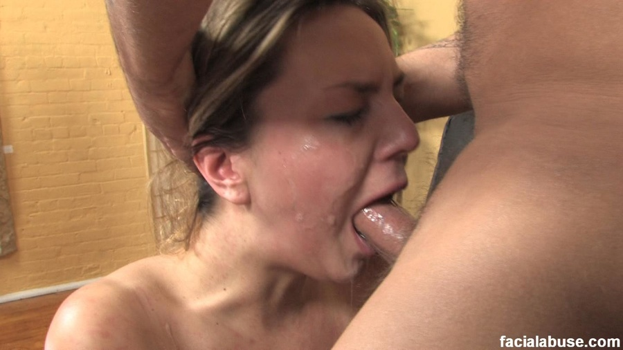 Milf choking on cock