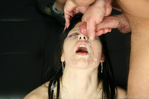 Deaf slut gagged and spunked all over - XXX Dessert - Picture 15