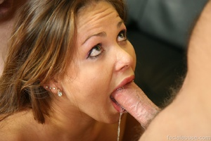 Violated cutie is stuffed and cum soaked - XXX Dessert - Picture 1