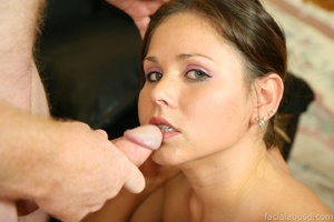 Violated cutie is stuffed and cum soaked - XXX Dessert - Picture 4