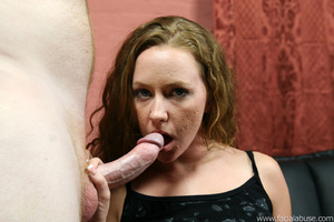 Shy slut is throat fucked and four loads - XXX Dessert - Picture 1