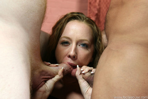 Shy slut is throat fucked and four loads - XXX Dessert - Picture 3