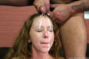 Shy slut is throat fucked and four loads - XXX Dessert - Picture 15