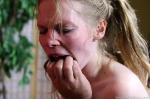 Artistic teen slut throat pounding and c - XXX Dessert - Picture 10