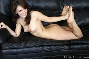 Porn star Bella Luciano gets face fucked - XXX Dessert - Picture 3