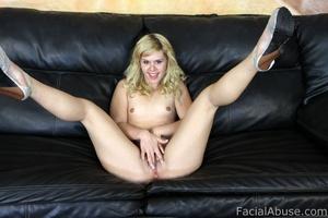 Porn star Elizabeth Bentley gets face fu - XXX Dessert - Picture 2