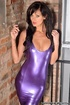 Hope you like me in that violet latex gloves getup