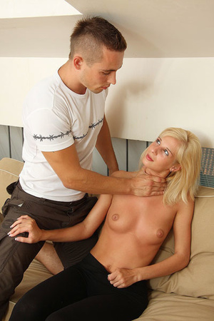 His brother fucked her and he is pissed  - XXX Dessert - Picture 6