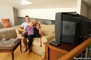 His brother fucked her and he is pissed  - XXX Dessert - Picture 17
