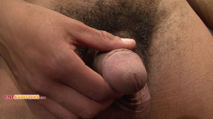 Muscular ebony gay proudly exposing his  - XXX Dessert - Picture 8