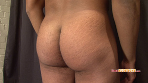 Muscular ebony gay proudly exposing his  - XXX Dessert - Picture 9