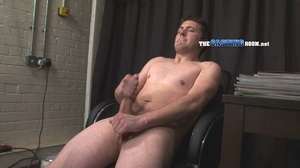 Itchy butt hole gay hunk cumming hard on - XXX Dessert - Picture 15