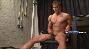 Young and well-hung gay dude sitting nak - XXX Dessert - Picture 16