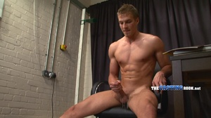 Young and well-hung gay dude sitting nak - XXX Dessert - Picture 17