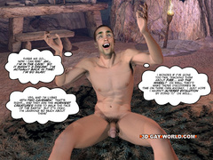 Well hung 3d dude gets his tight ass hole fucked by - Picture 2