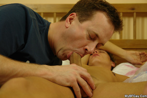 Sleeping nude gay hunk can't believe his - XXX Dessert - Picture 11