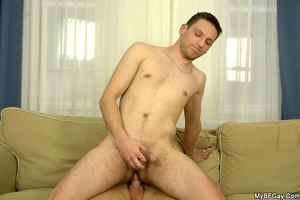 Sex starving gay hunk lets his friend pl - XXX Dessert - Picture 11