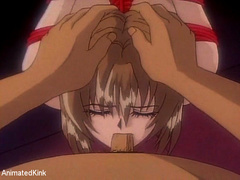 Xxx bdsm art pics of tied up hentai babes asked to give - Picture 5