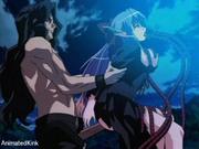 poor enslaved anime girl