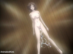 Bdsm art pics of tied up brunette anime nymph asked to - Picture 4
