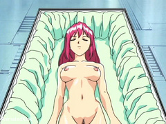 Enslaved manga babe with pink hair asked to suck - Picture 2