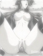 Enslaved and humiliated brunette anime girlfriend feels huge dick barely