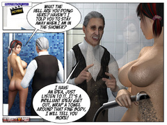 Xxx 3d pics of busty toon babe gets - BDSM Art Collection - Pic 2
