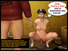 3d bdsm toon of cruel master enslaved - BDSM Art Collection - Pic 4
