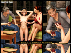 Perverted 3d couple have thier own - BDSM Art Collection - Pic 3