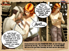 Captured by pirates redhead nude 3d - BDSM Art Collection - Pic 3