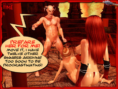Sexy hungry devil one and his perverted - BDSM Art Collection - Pic 4