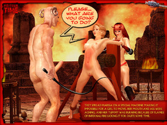 Sexy hungry devil one and his perverted - BDSM Art Collection - Pic 9